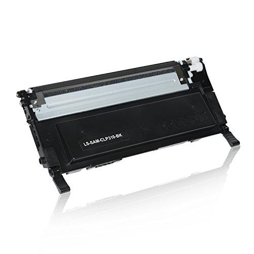 Preisvergleich Produktbild Toner für Samsung CLP- 310/ 315 schwarz mit Chip - schwarz, 2.500 Seiten, kompatibel zu CLT-K4092S
