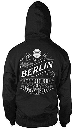 Mein leben Berlin Kapuzenpullover | Freizeit | Hobby | Sport | Sprüche | Fussball | Stadt | Männer | Herren | Fan | M1 FB (M)