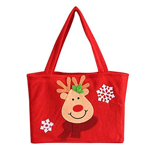 LoveLeiter Weihnachten Weihnachtsmann Schneemann Geschenk Candy Bag Strumpf Xmas Tree Party Home...