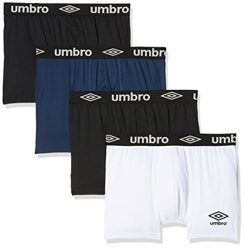 Umbro Men's Sports Underwear Active Boxer Breathable Mesh Panel Set of 2, Men, Sport Unterwäsche