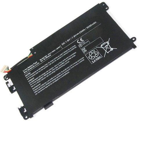 amsahr TSHPA5156U-02 Ersatz Batterie für Toshiba PA5156U, Satellite Click W35DT, W35DT-A3300 schwarz