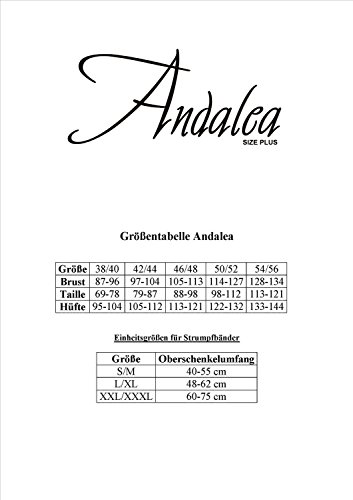 Chemise von Andalea Schwarz