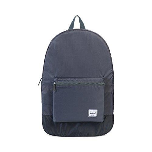 Imagen de herschel 10076 01413 tela negro / gris    para portátiles y netbooks tela, negro, gris, front pocket, cremallera, 317,5 mm, 139,7 mm