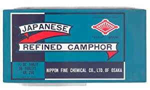 Canfora giapponese 250 gr. 36 tavolette