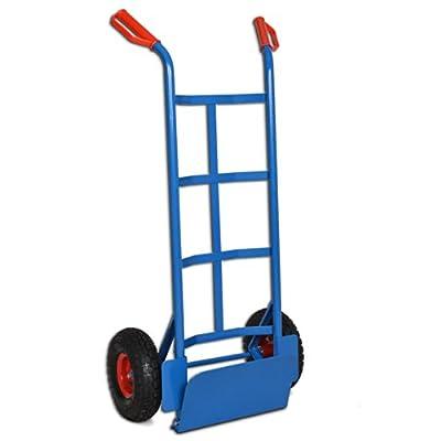 Sackkarre mit klappbarer Ladeschaufel bis 200 kg - Karre Transportkarre Stapelkarre von Deuba® - Du und dein Garten