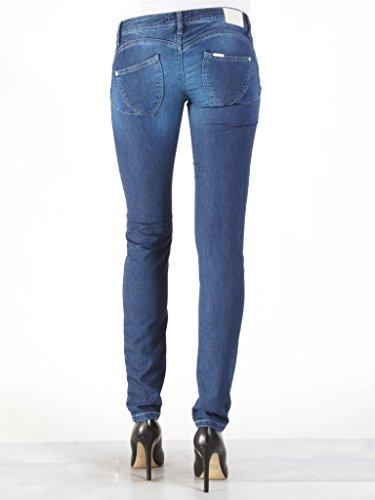 Carrera Jeans - Jogger Jeans 788 7880980A per donna, modello dritto, look denim, tessuto elasticizzato, vestibilità slim, vita bassa 011 - Lavaggio blu scuro
