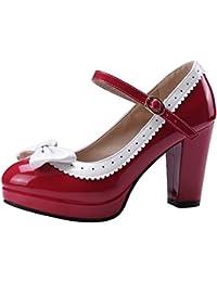 Scarpe Estate Dimensione Mode Piattaforma Tacchi Donna Zanpa 41 Sandali Stiletto Red qwO4q0Z
