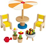 Hape Happy Family Doll House Furniture Patio Set - Best Reviews Guide