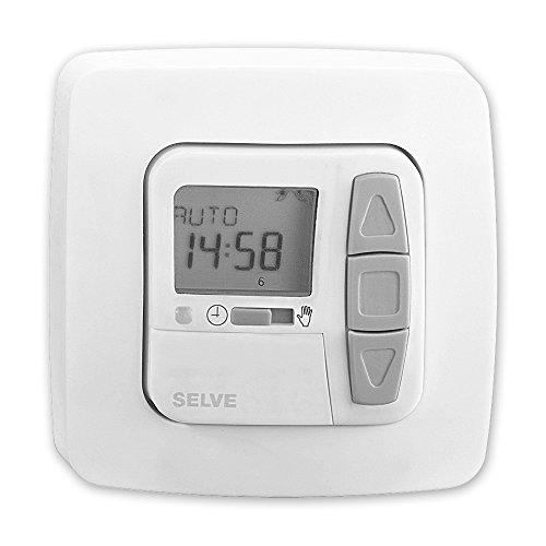 Preisvergleich Produktbild i-R Timer Plus, Funk Zeitschaltuhr, mit Astro-Sonnenschutz- & Dämmerungsfunktion möglich, Urlaubsfunktion, Beschattung oder Lüftung möglich, SELVE, Art.: 298700 + GRATIS EVEROXX-Phasenprüfer