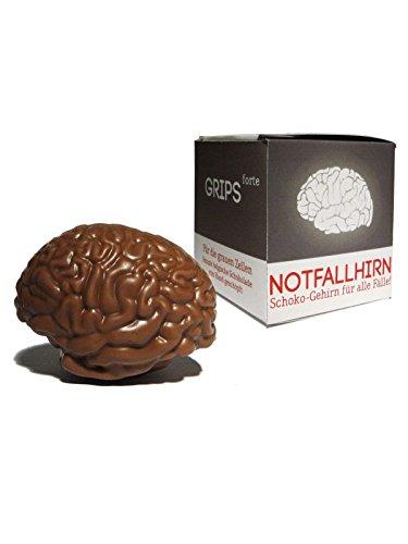 Notfallhirn Schoko Gehirn Geschenkartikel braun 30g