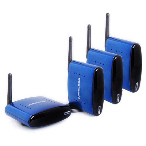 A12 AV Wireless Video Sender Empfänger System Set + zustätzlich 2x Empfänger Receiver
