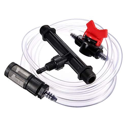 Moligh doll 1/2 Garten Bewaesserungs Geraet Venturi Duenger Injektor Schalter Wasser Rohr Kit (Differenzdruck-schalter)