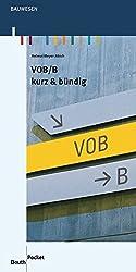 VOB/B: kurz & bündig (Beuth Pocket)