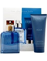 Calvin Klein Eternity Aqua Eau de Toilette Plus After Shave Balm Gift Set for Men