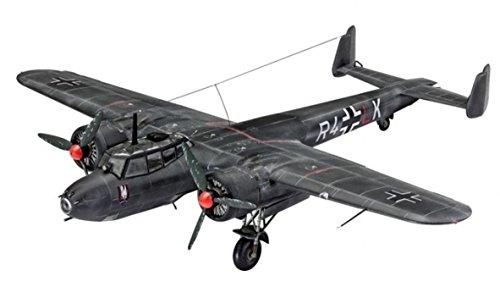 "Revell Modellbausatz Flugzeug 1:72 - Dornier Do17 Z-10 ""Kauz"" im Maßstab 1:72, Level 4"