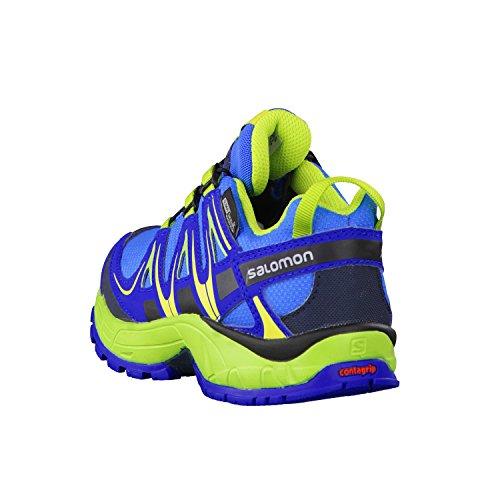 Salomon XA Pro 3 D CSWP K chaussures randonnées enfants Bleu