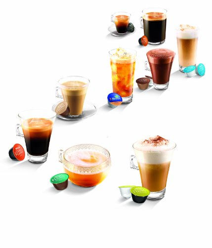 Nescafé Dolce Gusto Coffee Machine Jovia Manual Coffee by De'Longhi EDG250.B – Black