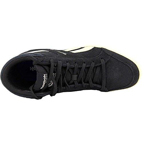 Reebok Royal Aspire 2 Femmes Daim Baskets Black-PPR White-Chalk