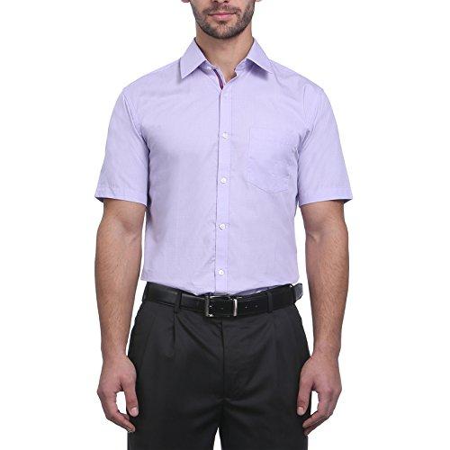 Park Avenue Medium Violet Cotton Shirt