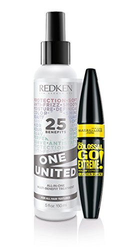 Redken One United All-In-One-Treatment 150ml + Maybelline Jade the Colossal Go Extreme Volum Express Leather Black Mascara