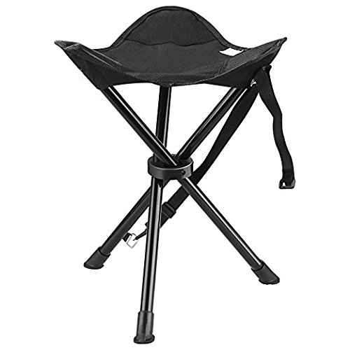 enkeeo Tabouret de camping portable Chaise...