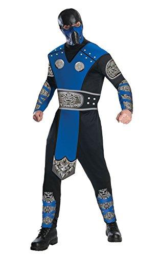 Mortal Kombat Sub-Zero, Erwachsene Kostüm–Große (Große Film-kostüme Für Halloween)