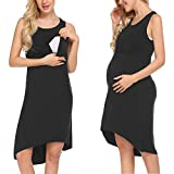 Unibelle Damen Umstandskleid Elagant Umstandskleid Off Schulter Schwanger Fotografie Rock, Festlich Lange Schwangerschafts Kleider