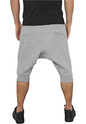 Urban Classics Herren Sportshorts Deep Crotch Undefined Sweatshorts Grau (Grey 00111)