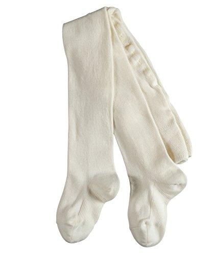FALKE Babys Strumpfhosen / Leggings Family - 1 Paar, Gr. 74-80, weiss, blickdicht, Baumwolle Komfortbündchen, hautfreundlich, Mädchen Jungen