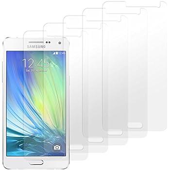 Samsung Galaxy A3 Displayschutzfolie 5 Stück - moodie Premium Folien Kristallklar für Samsung A3 2015