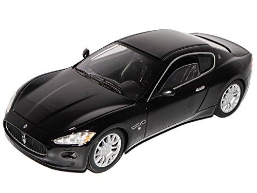 Maserati GT Gran Turismo Coupe Schwarz Ab 2007 1/24 Motormax Modell Auto (Maserati Auto)