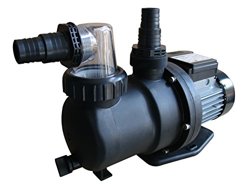 Gre PP076 - Pompe de filtration pour piscine, 450 W, 9,5 m3 / h- Noir