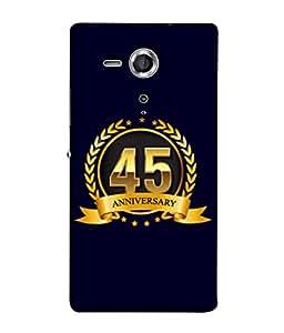 PrintVisa Designer Back Case Cover for Sony Xperia SP :: Sony Xperia SP HSPA C5302 :: Sony Xperia SP LTE C5303 :: Sony Xperia SP LTE C5306 (Life Love Occasions Aniversary Vision Celebrations)