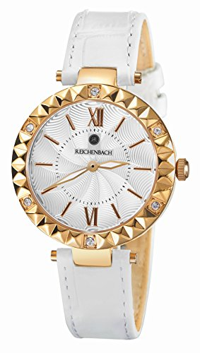 Reichenbach Woman Quartz Watch Loos White 35 mm