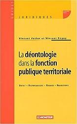 La Déontologie dans la fonction publique territoriale