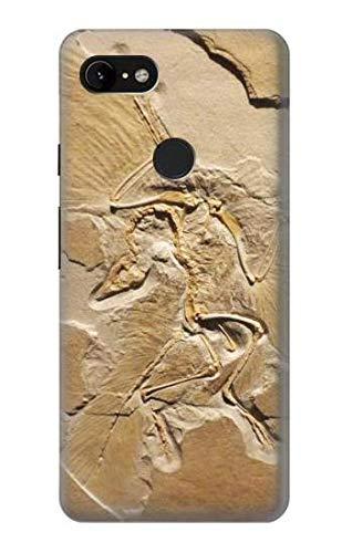 Innovedesire Dinosaur Fossil Hülle Schutzhülle Taschen für Google Pixel 3 XL