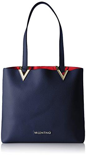 valentino-by-mario-valentino-damen-calendula-henkeltasche-blau-blu-12x31x34-cm