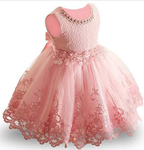 MerryGirl Baby Mädchen Kleid für Geburtstag Weihnachtsfeier Prinzessin -