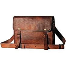 f8ba5fe2feb6 HandMade Leather BagWala HBW da uomo in vera pelle messenger borse laptop  Briefcase Satchel mens bag