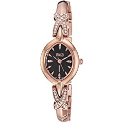 Jivago Women's 'Via' Quartz Stainless Steel Casual Watch, Color:Two Tone (Model: JV3613)