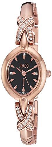 Jivago Women's 'Via' Quartz Stainless Steel Casual Watch, Color:Two Tone (Model: JV3613)