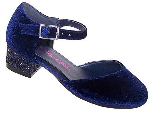 Sparkle club the eliza, sandali con zeppa da ragazza', blu (marina militare), 30 eu bambino