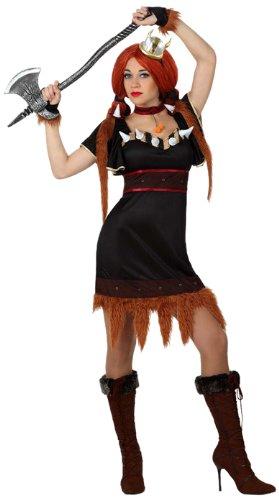 Imagen de atosa  disfraz de vikinga para mujer, talla m/l 15413