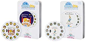 Moonlite Single Story Reel - Peter Rabbit for Kids 1 Year and Above & Moonlite Single Story Reel - Spot Loves Bedtime for Kids 1Years and Above