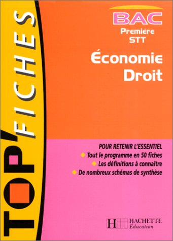 Economie droit, 1re STT