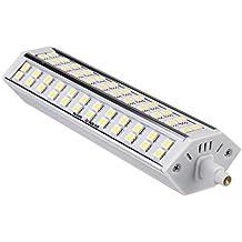 R7S 15W 72 LED 5050 SMD Bombilla ahorro de energia, funcionamiento estable. 189mm 100-240 Reemplazar proyector de halogeno (blanco)