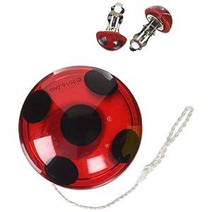 Rubie's Miraculous Ladybug 32930 Yo-Yo più e orecchini 11 spesavip