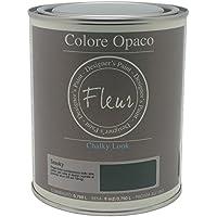 Fleur Paint 13410 - Pintura mineral (base agua, 750 ml) color smoky