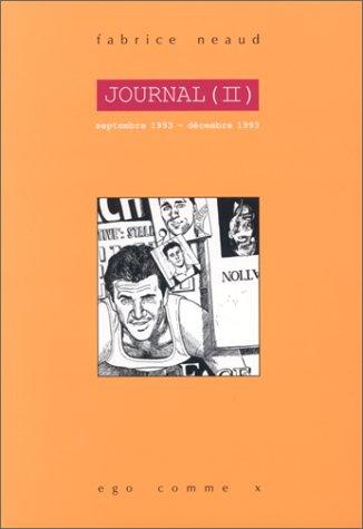 Journal tome 2, septembre 1993-décembre...