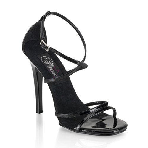 PleaserUSA Sandalette Gala-41 Lack Schwarz